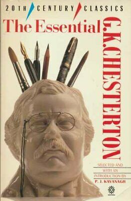 The Essential G. K. Chesterton by GK Chesterton Paperback Book The Cheap Fast