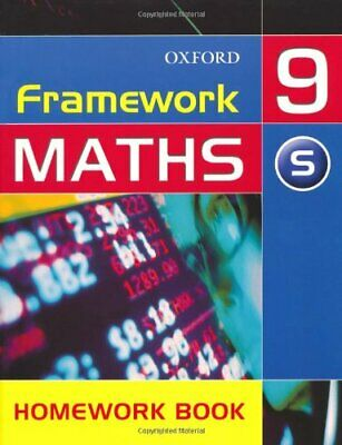 Framework Maths: Year 9: Support Homework Book: S... by Capewell et al Paperback