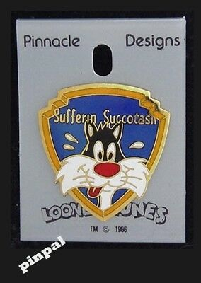 WB Looney Tunes Pin ~ Sylvester the Cat by Pinnacle Designs ~ 1989 vintage
