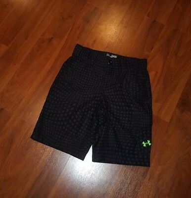 Boys Under Armour Golf Shorts, Youth Medium YMD, Gray/black never wore look!