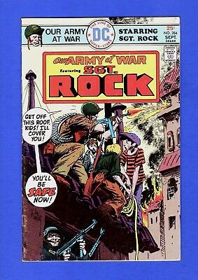Our Army At War Sgt. Rock #284 Fn+ Higher Grade Bronze Age Dc Comics