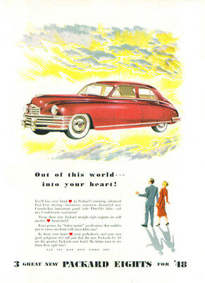 Out of this world into your heart! Packard ad 1948