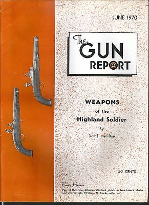 GUN REPORT Highland Hall Flintlock Smith Wesson Volcanic Winchester Colt 6 1970