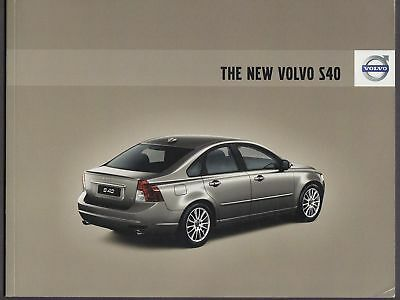 2008 Volvo S40 sales catalog