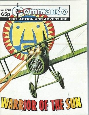 Warrior Of The Sun,commando For Action And Adventure,no.3240,war Comic,1999