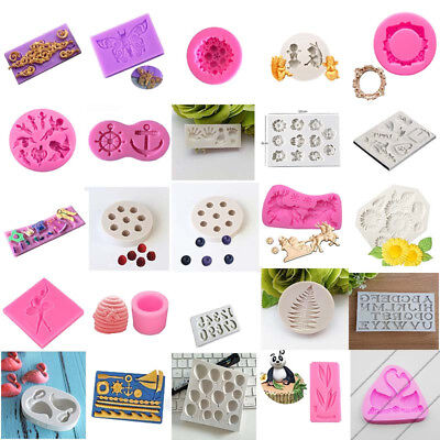 DIY Fondant Cake Decorating Tool Baking Mold Silicone Chocolate Sugarcraft Mould