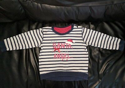 Baby girl Christmas jumper 9-12 month's.
