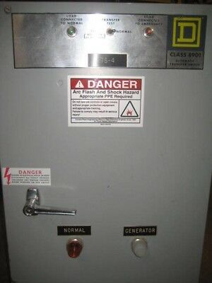 Square D Automatic Transfer Switch 70 Amp 480 Volt (A1)