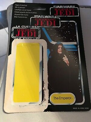 Star Wars Vintage THE EMPEROR ESB 70-Back Cardback Kenner