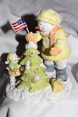 """Estate Christmas Ice Sculptures """"Life Liberty & The Pursuit of the Perfect Tree"""""""