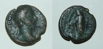 Ancient Rome :  Marcus Aurelius 138-161 A.d. - Copper As