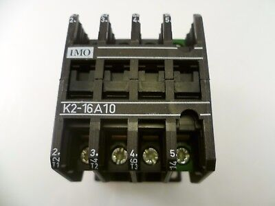 IMO K2-16A10 24 24V 50/60Hz Contactor 7.5kW 3 400V MBA005d