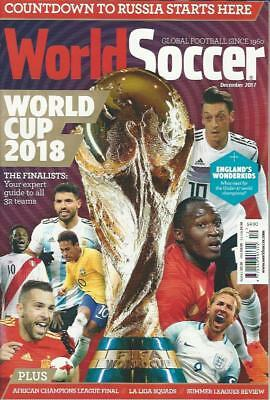 WORLD SOCCER- December 2017 issue (NEW) *Post included to UK/Europe/USA/Canada