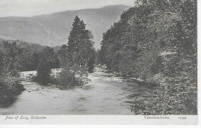 VINTAGE Postcard Pass of Leny, Callander Unposted