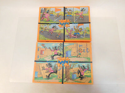 ESF-03152	Ältere 2 St. Hase und Wolf Puzzle, DDR