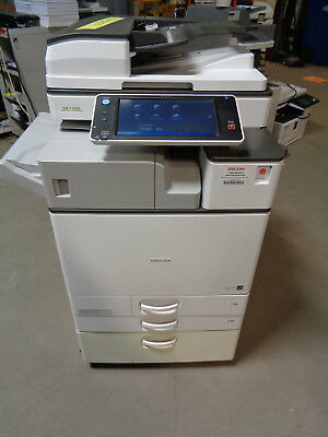Ricoh MP C3003 Color Copier w/ Internal Staple Finisher Total Meter=160K - CT