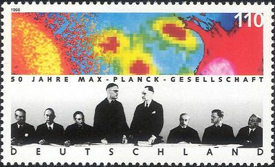 Germany 1998 Max Planck Society/Science/Scientists/X-Ray/People 1v (n45922)