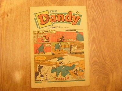 1966 The Dandy Comic No 1307 dated Dec 10th 1966 - in ok condition