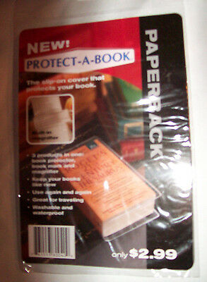 Protect a Book Protective Book Cover Paperback Book Cover (1) New