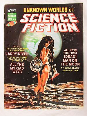 Unknown Worlds of Science Fiction #5 (1975) Curtis High Grade VF/NM CO175