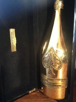 Ace Of Spades Brut Champagne 1.5L MAGNUM Gold Bottle with Gift box (empty)