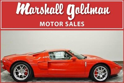2006 Ford Ford GT Base Coupe 2-Door 2006 Ford GT Mark IV Red ONLY 136 MILES !!!  1 of 6 red cars with no stripes