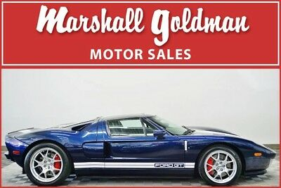 2006 Ford Ford GT Base Coupe 2-Door 2006 Ford GT in Midnight Blue Metallic on Ebony with only 3,900 miles
