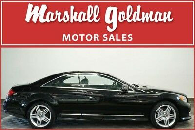 2014 Mercedes-Benz CL-Class 4Matic Coupe 2-Door 2014 Mercedes CL550 Black/Black AMG wheels only 14,800 miles