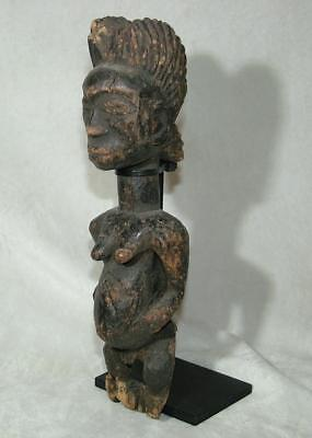 Antique Vintage African Tribal Very Old Looking Carved Wooden Figure - Lot 7