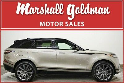 2018 Land Rover Range Rover  2018 Range Rover Velar HSE in Silicon Silver over Ebony with only 2,800 miles.