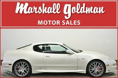 2006 Maserati Gran Sport Base Coupe 2-Door 2006 Maserati Gransport Bianco Fuji with Nero navigation only 34,800 miles