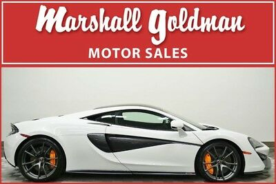 2017 McLaren 570 Base Coupe 2-Door 2017 McLaren 570S White Carbon Black leather & suede Track Pack only 1,700 miles