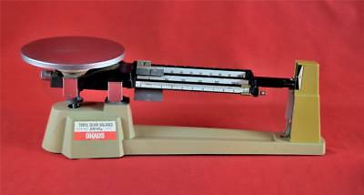 Ohaus Triple Beam Balance Scale 700/800 Series 2610g - 5lb 2oz Capacity