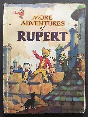 Rupert Annual 1942..original..neatly Inscribed Not Price-Clipped..very Rare Book
