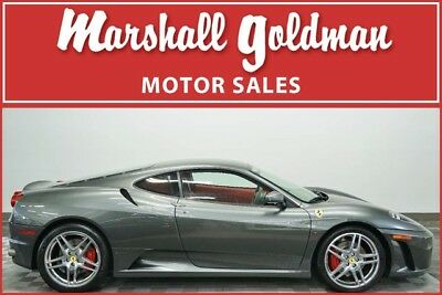 2006 Ferrari 430 Base Coupe 2-Door 2006 Ferrari F430 Coupe Grigio Silverstone with Rosso only 11,500 miles