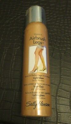 New Sally Hansen Vitamin K Airbrush Legs Light Glow 75G