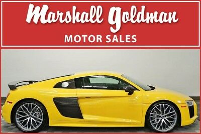 2017 Audi R8 Plus Coupe 2-Door 2017 Audi R8 V10 Plus in Vegas Yellow over Black 2,907 miles loaded