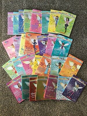 Lot of 28 Rainbow Magic Books by Daisy Meadows - Sports, Party, Fashion, More