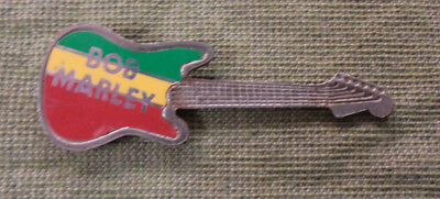 #d331. Bob Marley Guitar Music   Lapel   Badge