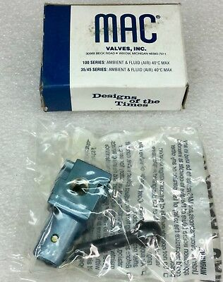 Mac Valves Model 1111A-021 Lever Locking Pneumatic Valve New In Box