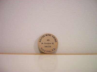 Silver Mtn. Coins Rapid City S.D. Wooden Nickel