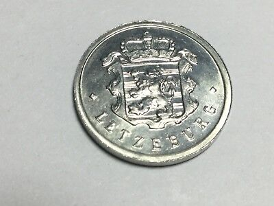 LUXEMBOURG 1963 25 Cent coin uncirculated