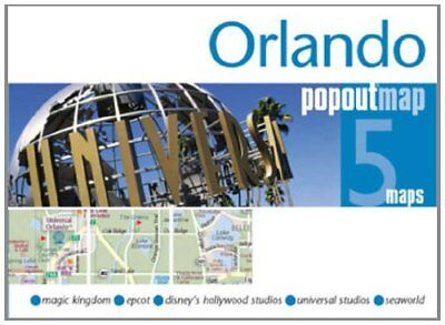 Orlando PopOut Map: pop-up city street map of Orlando city cen... by Popout Maps