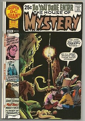 Super Dc Giant No. S-20 Nov. 1970 House Of Mystery Neal Adams Cover Dc Comics Vf