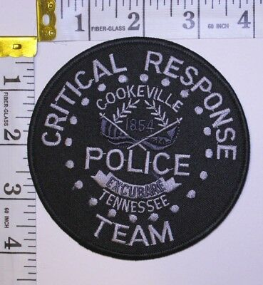 Cookeville Tennessee Police Department Critical Response Team Shoulder Patch
