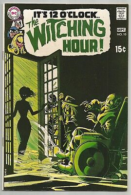 The Witching Hour No 10 Sept. 1970 N. Adams Cover A. Toth & G. Morrow Art Dc Vf