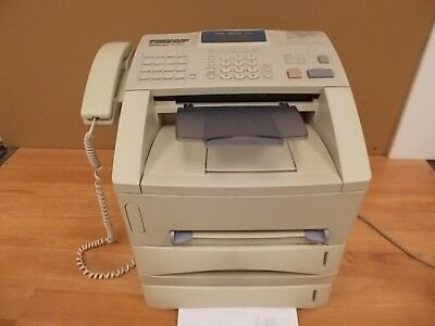 BROTHER INTELLIFAX FAX4750E Business Class Laser Fax Machine w/Toner/Paper Tray
