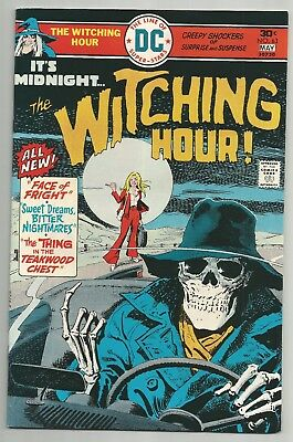 Witching Hour No. 63 May 1976  Dc Comics  Vf+