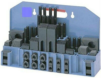 58Pce 12mm T-Slot Milling Step Block & Clamping Kit