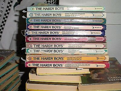 Ten Paperback The Hardy Boys Books